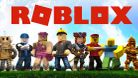 Roblox characters posing