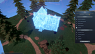 First comes placing the blueprint of your Kingdom's Tavern before building it
