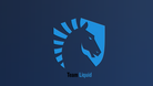 Screenshot of the Team Liquid logo on a blue background.