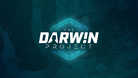 Darwin Project logo on a teal background