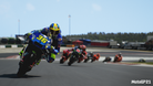 MotoGP 21 screenshot showing a motorcycle race
