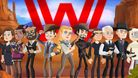 picture showing characters from westworld game