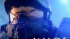 Close up of Master Chief, protagonist of Microsoft's game Halo
