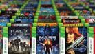 artwork showing xbox games