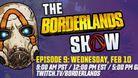Borderlands 3 - The Borderlands Show key art with logo