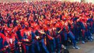 547 people dressed as Spider-Man in Comic Con Stockholm