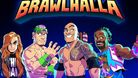 Promotional image for Brawlhalla WWE crossover