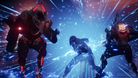Arcstrider fighting two enemies in Destiny 2