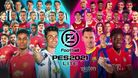 PES 2021 Lite artwork showing football players
