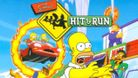 Simpsons Hit and Run artwork showing homer running