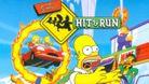 Simpsons Hit and Run artwork showing homer running