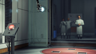 Promotional in-game image for Prey showing scientists and test chamber