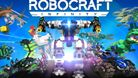 Robocraft title image showing many different robots that were crafted.