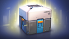 The standard loot box in Overwatch