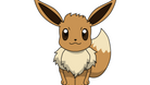 Eevee, a brown and beige Pokemon with long ears