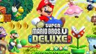 Super Mario on the cover of New Super Mario Bros U. Deluxe