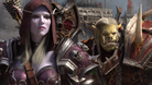 Sylvanas and Saurfang standing next to each other