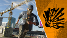 Watch Dogs 2 protagonist running in a mask