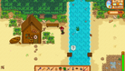 Screenshot from Stardew Valley showing off its pixelated graphics still looking pretty in vibrant colours.