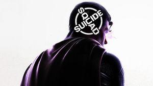 Suicide Squad arwork showing superman