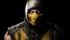 picture showing scorpion from Mortal Kombat X