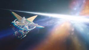 starfield screenshot showing space and horizon