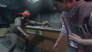 A player controlled zombie in Resident Evil Resistance.