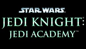 Key art for Star Wars Jedi Knight: Jedi Academy.