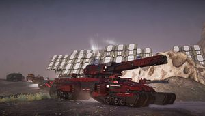 Planetside 2's the Colossus Tank