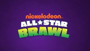 Nickelodeon All-Star Brawl key art with logo