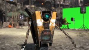 Picture of Claptrap from Borderlands 2
