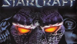 Cover image of starcraft box with protos terran and zerg head