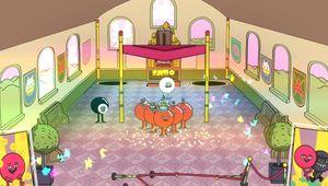 pool panic balls wedding orange eight ball
