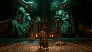 picture showing a character from Bard's Tale 4
