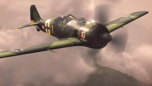 German aircraft flying in Wargaming's game World of Warplanes