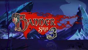 banner saga 3 artwork showing a logo
