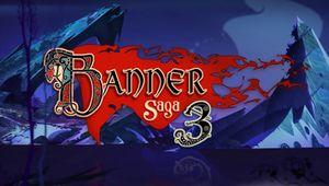 banner saga 3 artwork showing a logo