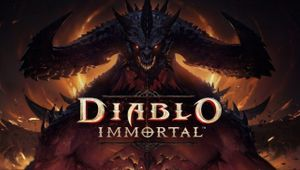 picture showing a demon with diablo immortal title