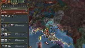 Europa Universalis VI: Emperor map