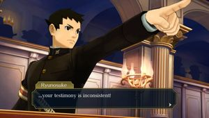 The Great Ace Attorney Chronicles - Ryunosuke Naruhodo in-game screenshot