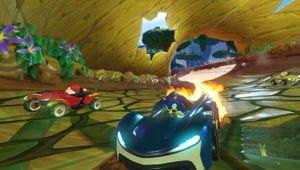Promotional screenshot from Team Sonic Racing