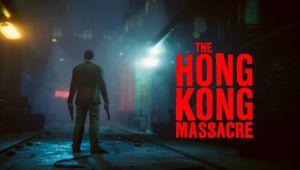 The Hong Kong Massacre key art with logo