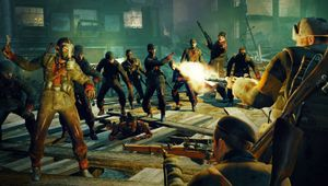 Shootout in Zombie Army Trilogy