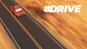 #DRIVE header image key art with logo