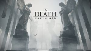 In Death: Unchained key art with logo
