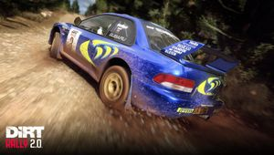 Dirt Rally 2.0 depiction of Subaru Impreza S4 Rally