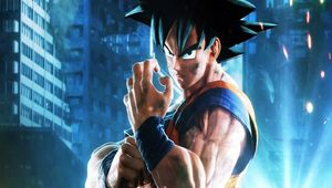 A picture of Goku in Jump Force.