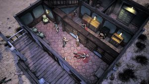 A robbery with lots of murder in Weird West.