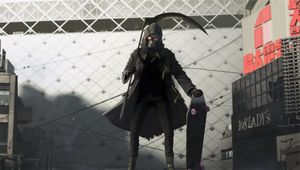 Picture of Uncle Death in Let it Die video game