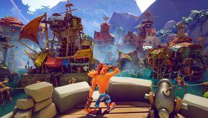 Crash Bandicoot 4: It's About Time scene